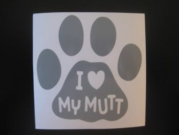 Mutt Decal