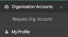 Apply for an Organization Account