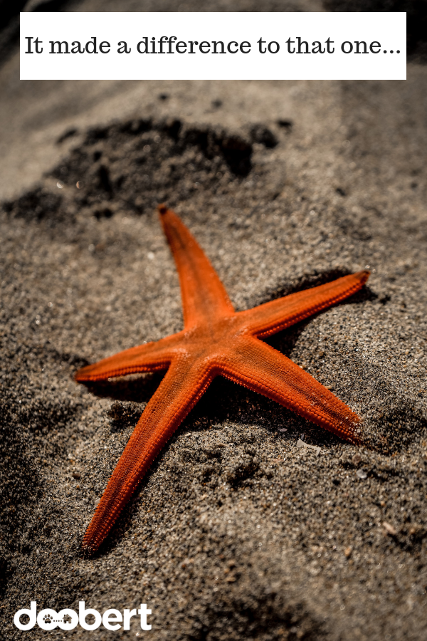 Save a starfish