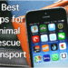 best animal rescue transport apps
