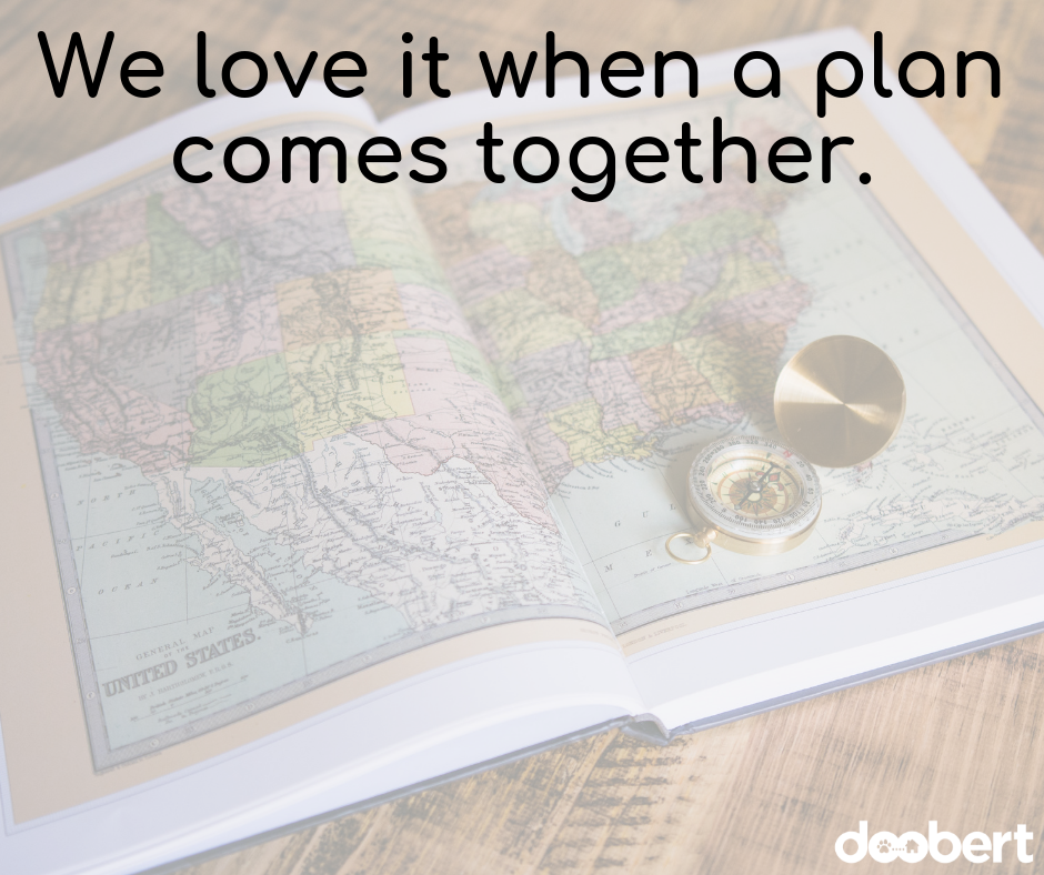 We love it when a plan comes together.