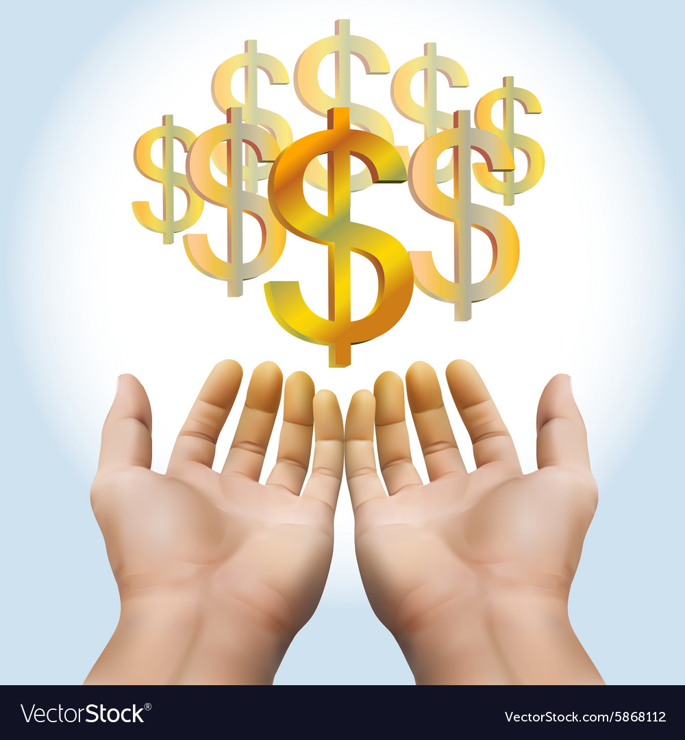 hand-receiving-money-or-gold-vector-5868112