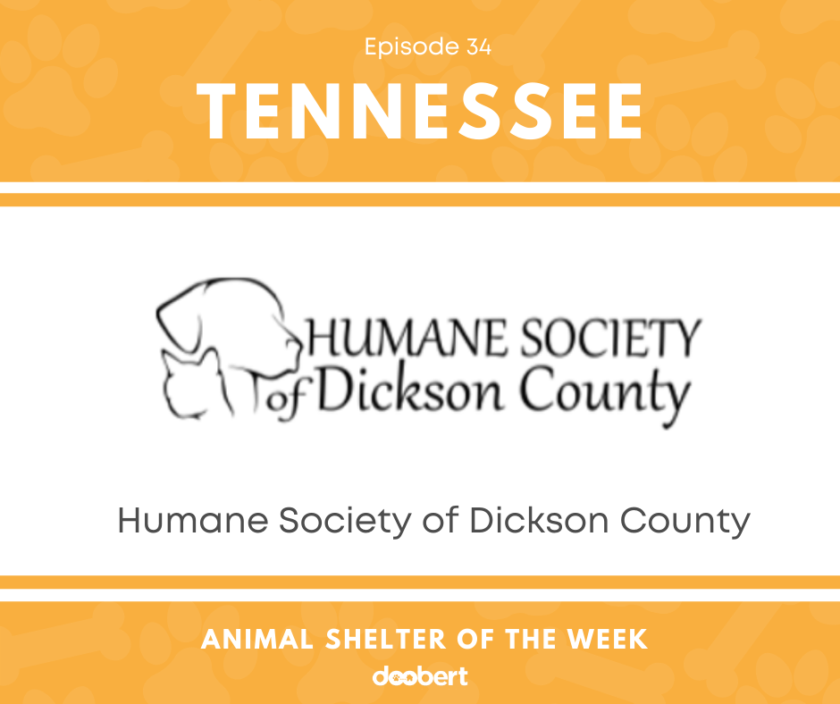FB 34. Humane Society of Dickson County_Animal Shelter of the Week