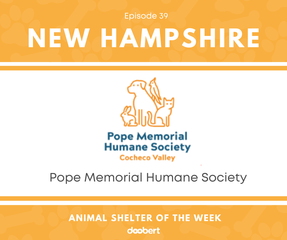 FB 39. Pope Memorial Humane Society_Animal Shelter of the Week