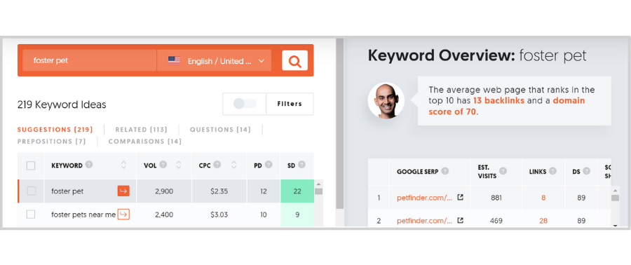 Free Tools and Tips to Get the Right Traffic - ubersuggest keyword ideas