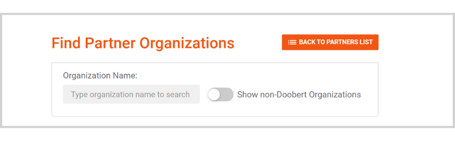 Finding Partners on Doobert: Finding and adding partners