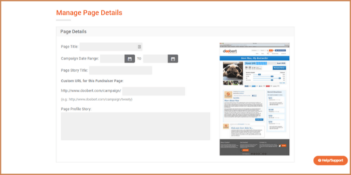 Manage page details-min