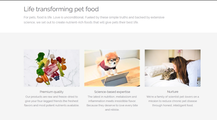 All-Natural Pet Food Prevents Chronic Diseases and Extends Your Pet's Life   My Zone Blue Pet Food