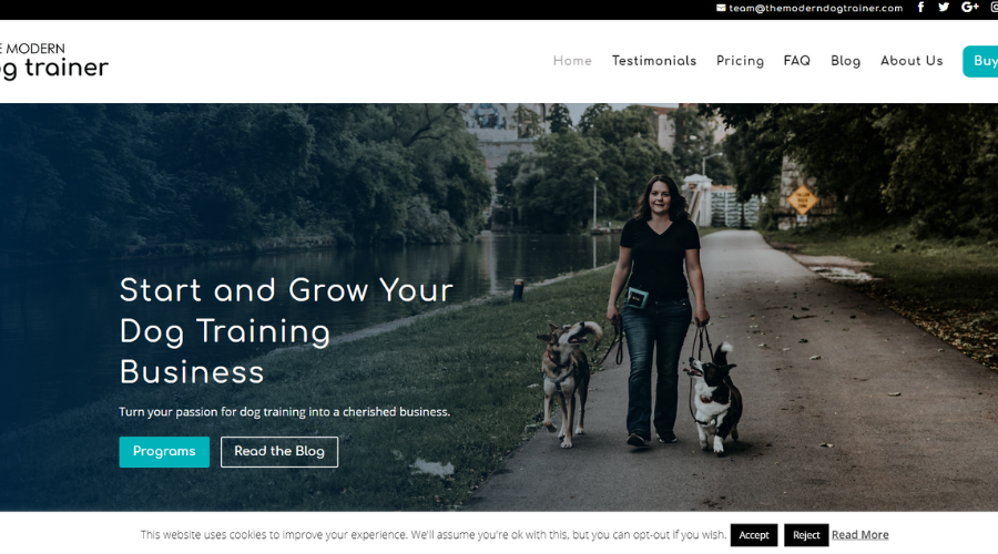 Helping Dog Trainers Market Themselves and Grow Their Business | The Modern Dog Trainer