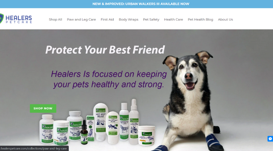 Pet Boots Designed to Prevent Paw Injuries   Healers Petcare