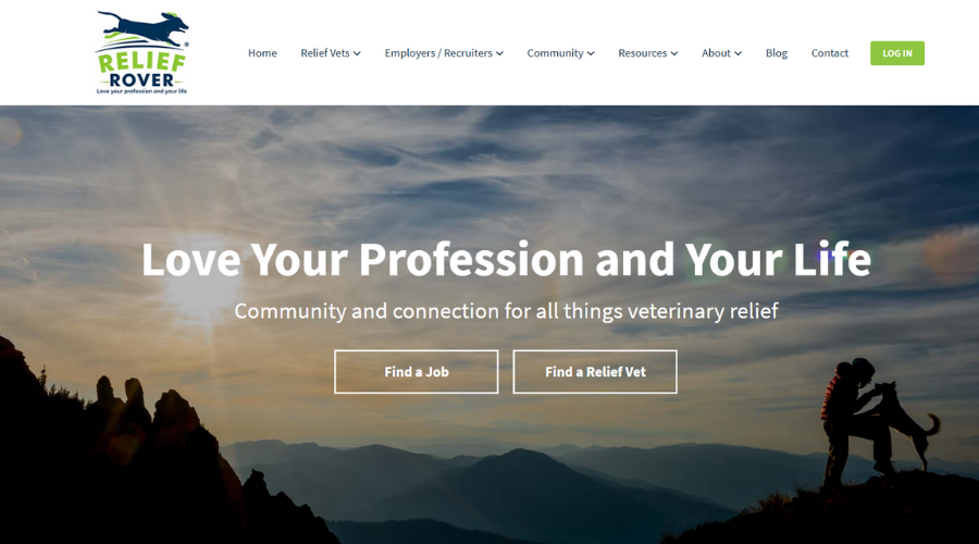 Platform That Connects Relief Vets With Vet Practitioners | Relief Rover