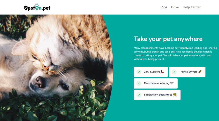 The Pet-Friendly Version of Uber and Lyft | SpotOn