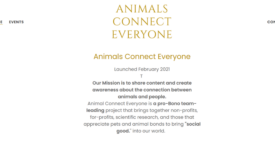 Creating Partnerships That Strengthen Human-Animal Connections | Animals Connect Everyone