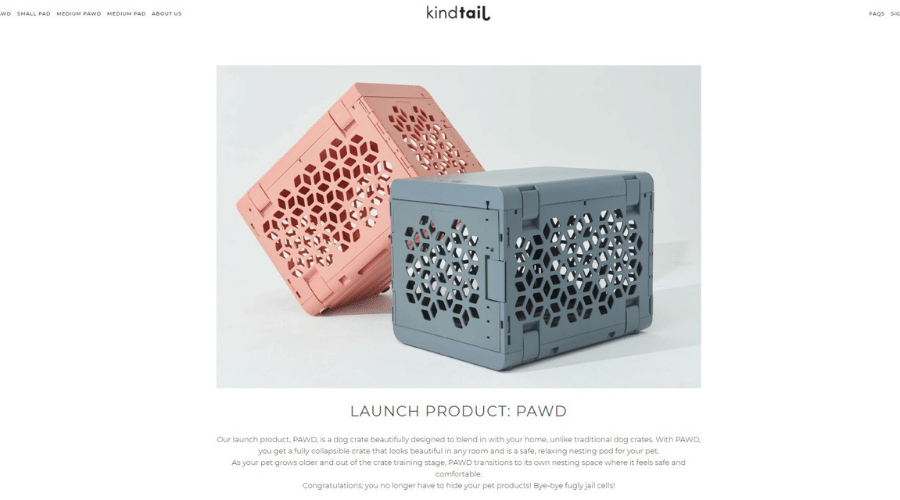 Kindtail Modern Dog Crate Products That Reinvent Pet Living