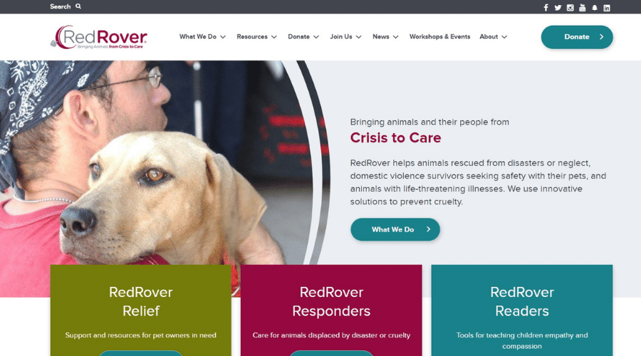 Providing Emergency Assistance for Pets and People in Crisis RedRover