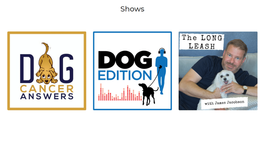 Dog Podcast Network Improves Dogs' Quality of Life by Podcasting and Meditation